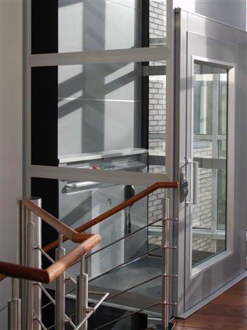 Onze liften kunnen in elke afmeting worden geleverd